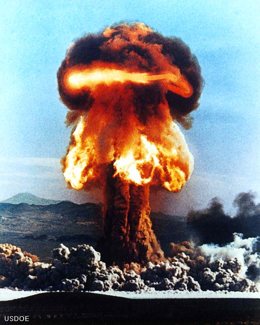 Destructive power of Nuclear weapons